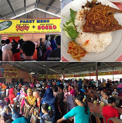 Nasi Bebek Sinjay Di Bangkalan Paling Maknyus Di Madura