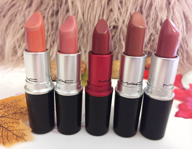 M.A.C Lipstick Collection