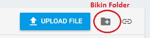 create folder firebase