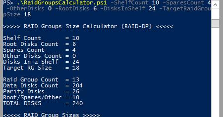 Cosonok's IT Blog: RAID Groups Calculator (RAID-DP)