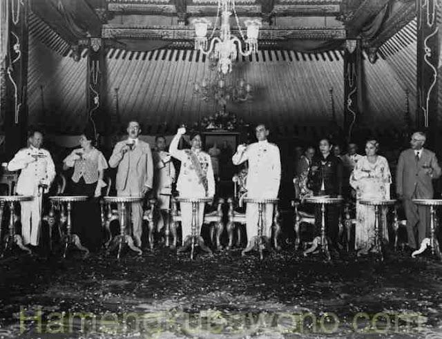 Foto Kuno Sri Sultan Hamengkubuwono VIII Tahun 1937
