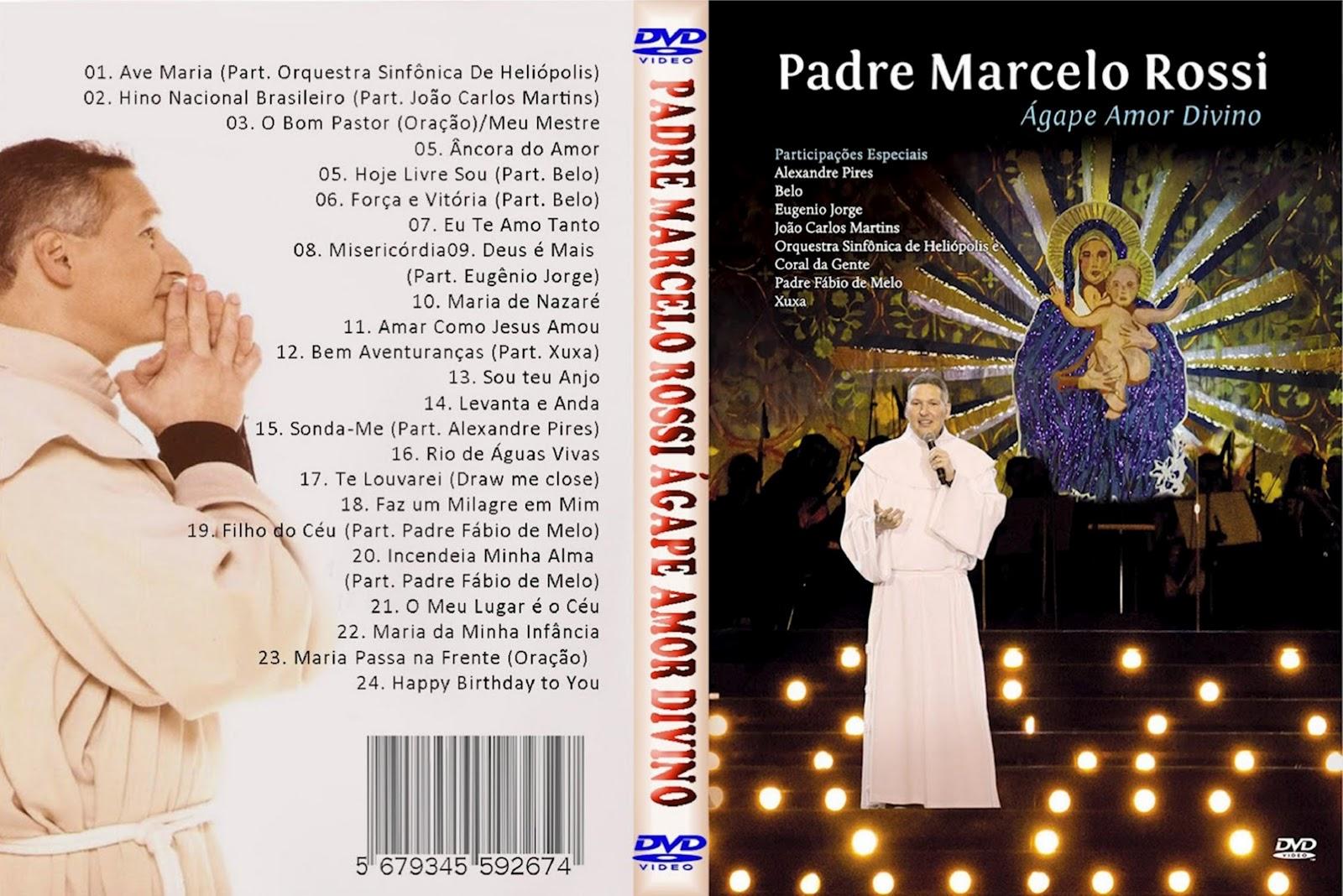 PADRE 2012 MARCELO ROSSI DVD DO BAIXAR NOVO