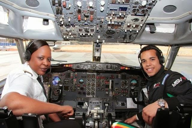 A LEGEND FEMALE PILOT: Captain Chipo M Matimba.