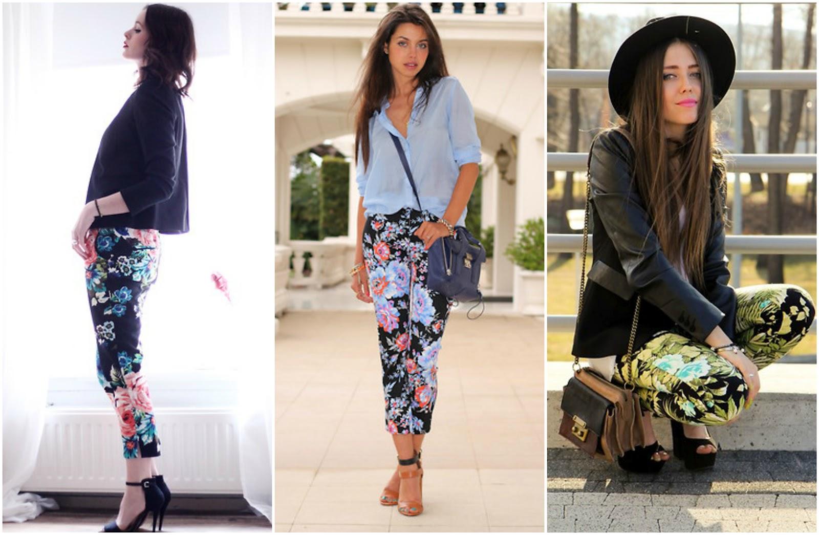 My Fashion World Pantalones Floreados