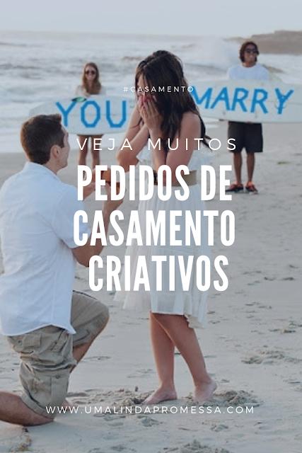 Ideias para pedido de casamento surpresa criativo e romantico