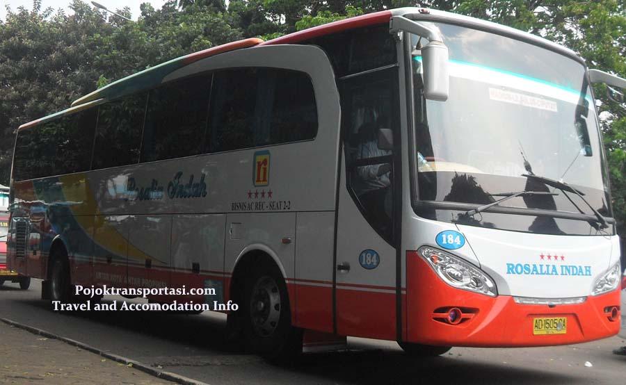 Harga Tiket Bus Rosalia Indah Pojoktransportasi
