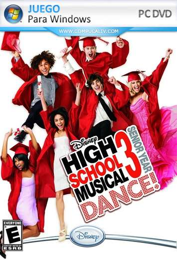 Disney High School Musical 3: Senior Year Dance PC Full Español