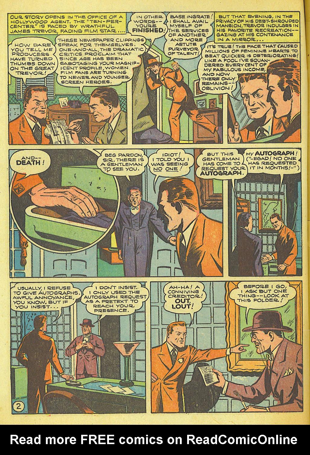 Read online Action Comics (1938) comic -  Issue #58 - 3