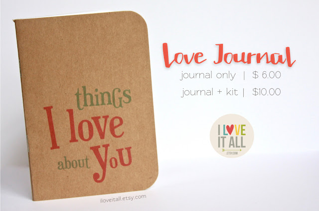 #love journal #10 Things #I Love You #Reasons I Love You