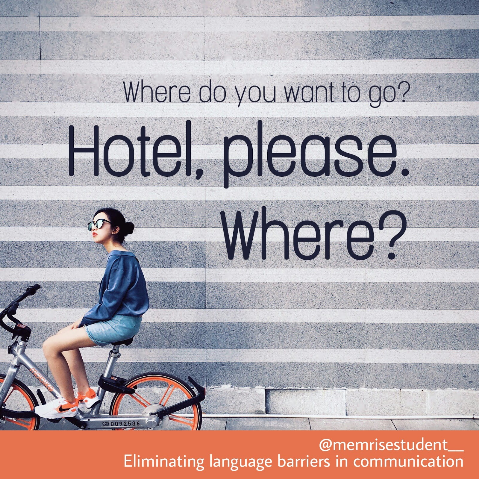 How do you say I want to go to Hotel in foreign language faster?