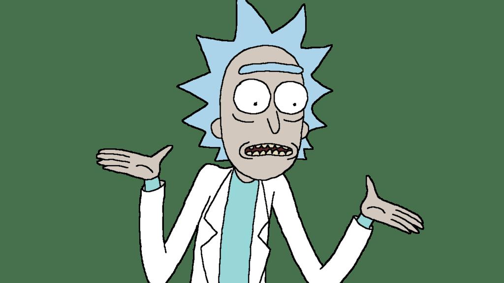 Cartoon Characters: Pingu and Rick & Morty (PNG)