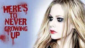 Avril Lavigne - Here's To Never Growing Up [Lyrics Video]