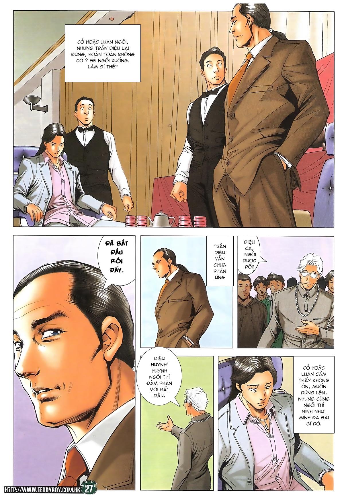 Người Trong Giang Hồ - Ngũ Hổ qui thiên - Chapter 1715: Đàm phán siêu cấp - Pic 23