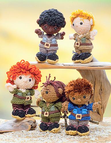 zoo keepers Crochet pattern
