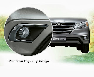 new fog-lamp innova