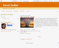 Sand Dollar Theme