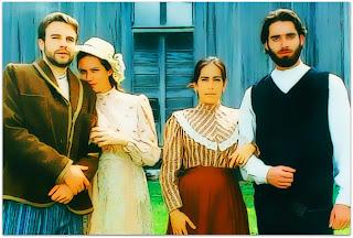Patrícia Pillar e Glória Pires, em 'O Quatrilho' (1995)