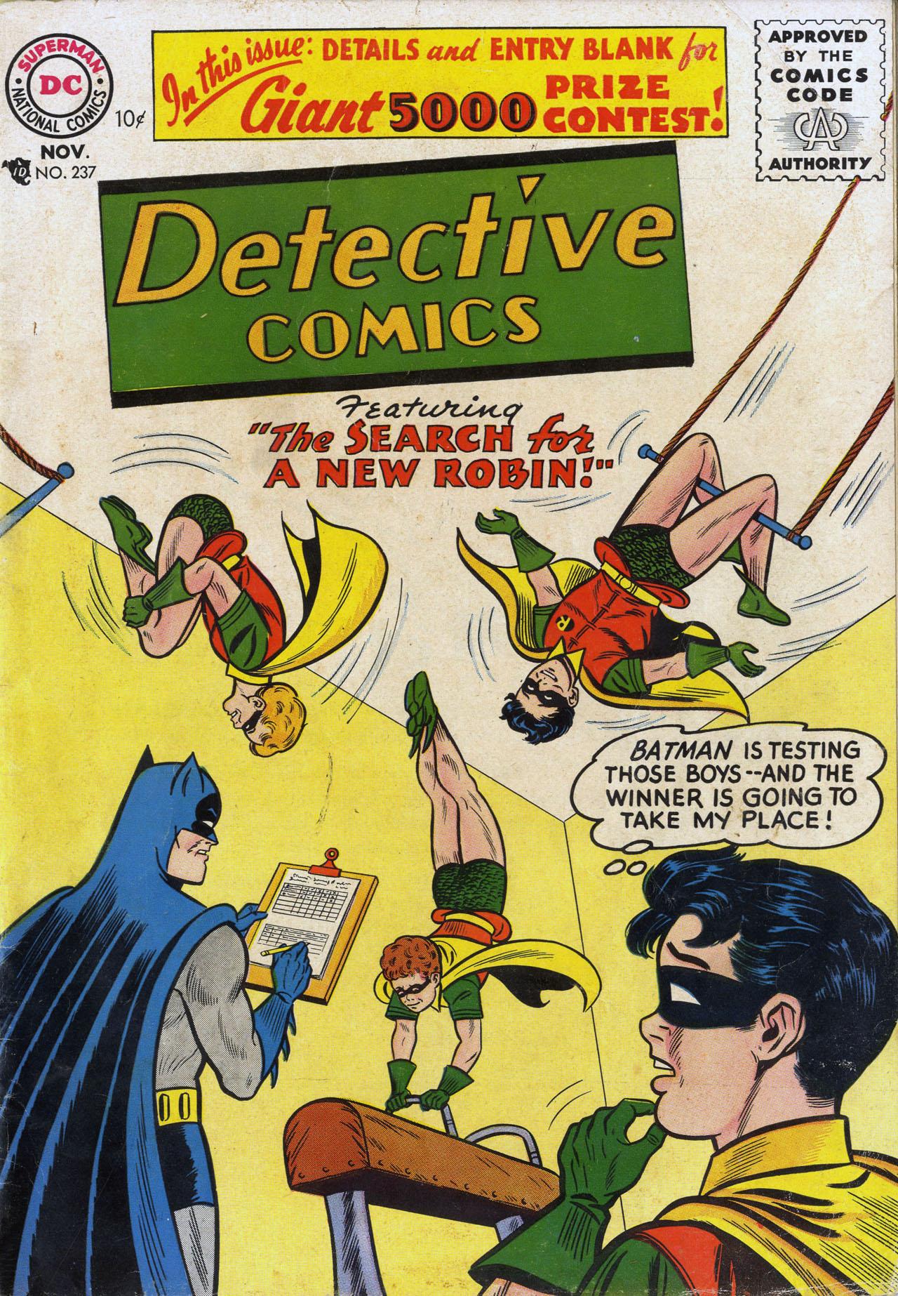 Detective Comics (1937) 237 Page 0