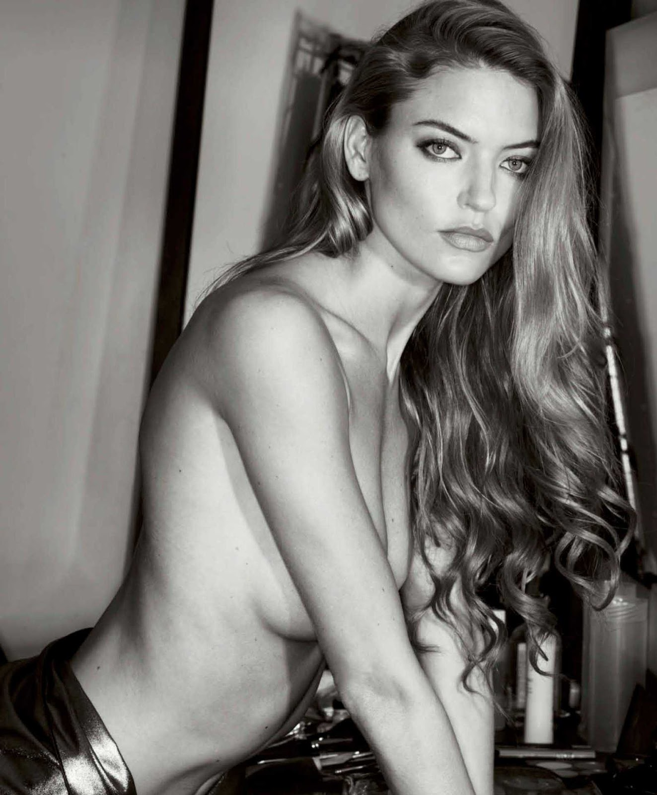 Martha Hunt sizzles as she strips for Maxim Magazine
