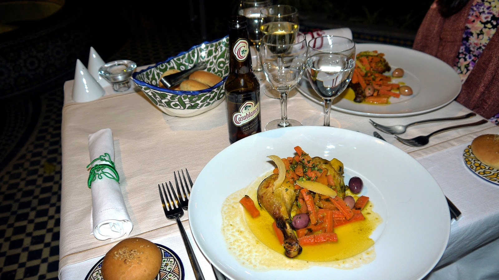 Dinner at Palais Amani Fez