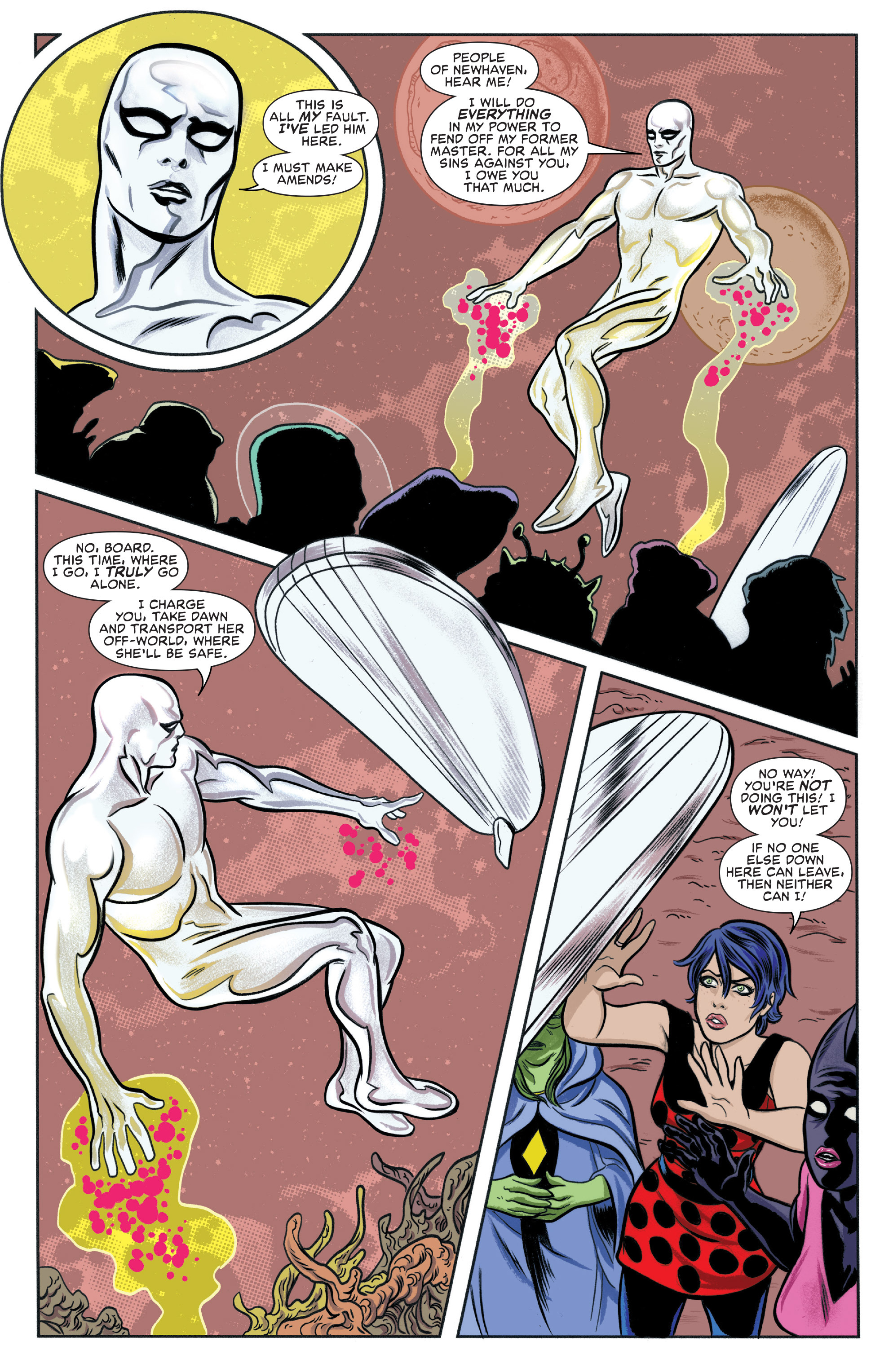 Read online Silver Surfer (2014) comic -  Issue #9 - 9