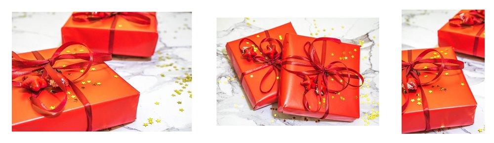 3a jak zapakować prezenty świąteczne w papier  pomysły na pakowanie prezentów jak zapakować pudełko w papier złote czerwone prezenty sposoby na pakowanie prezentów poradnik tutorial jak pakować