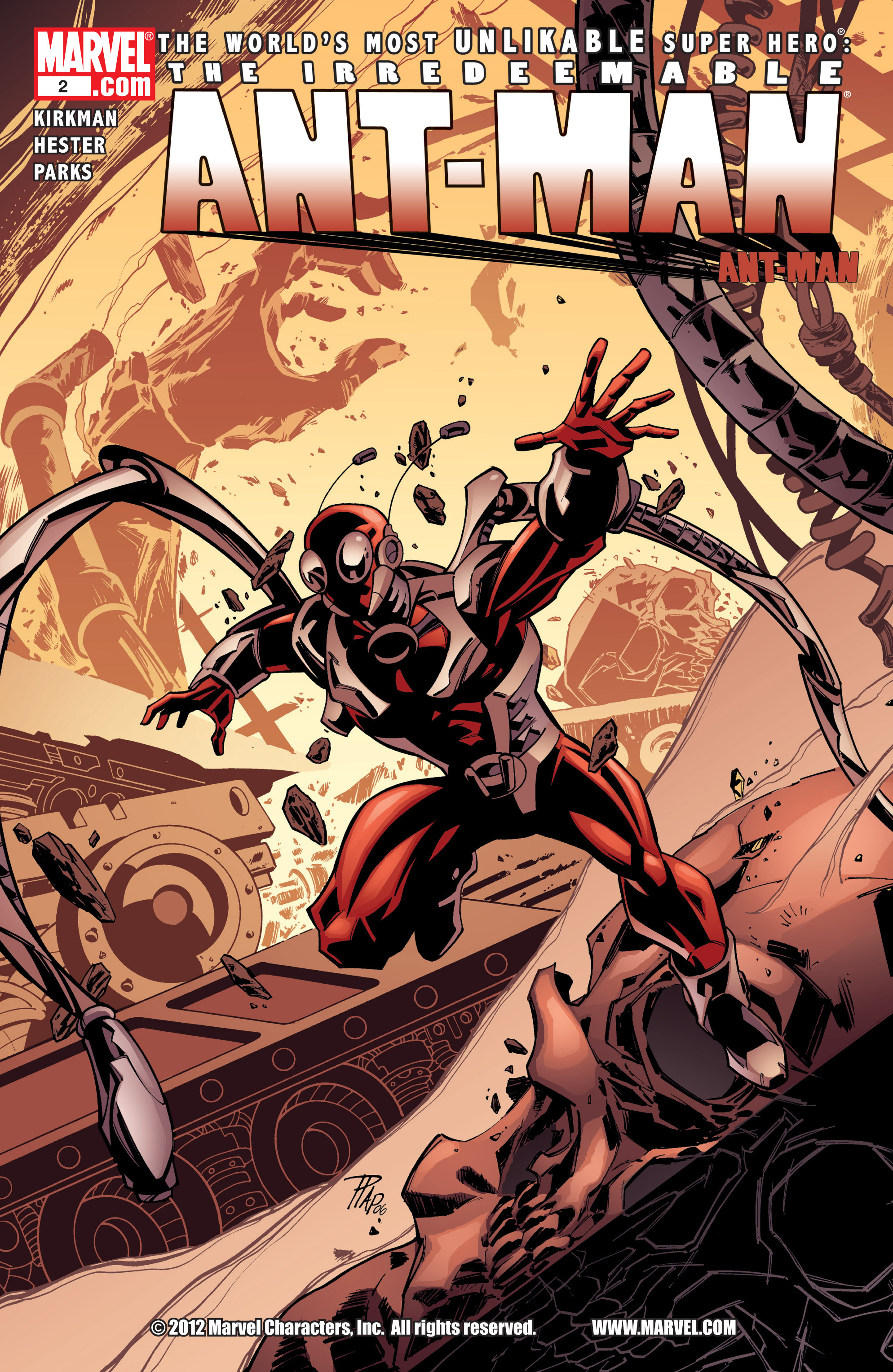The Irredeemable Ant-Man Issue #2 #2 - English 1
