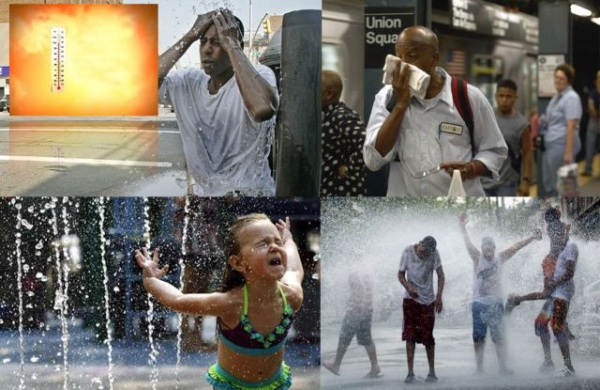 Alertan por ola de calor en NY con temperaturas de hasta 115 ...