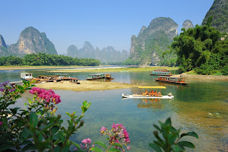 Paisajes de China en Guilin