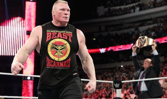 Brock Lesnar Winner of Royal Rumble 2016