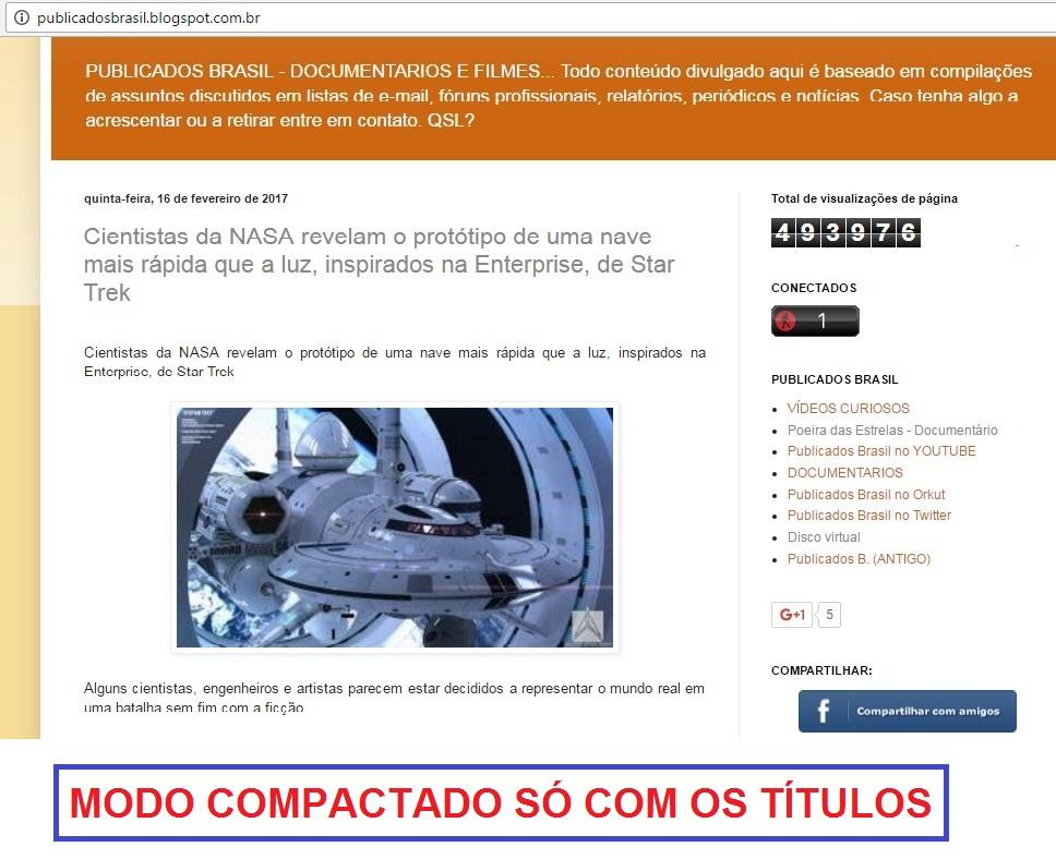 5a64b6a30e1 PUBLICADOS BRASIL  Compilação de 4226 Postagens - 16 02 2017 - SÓ ...