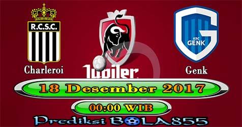 Prediksi Bola855 Sporting Charleroi vs Racing Genk 18 Desember 2017