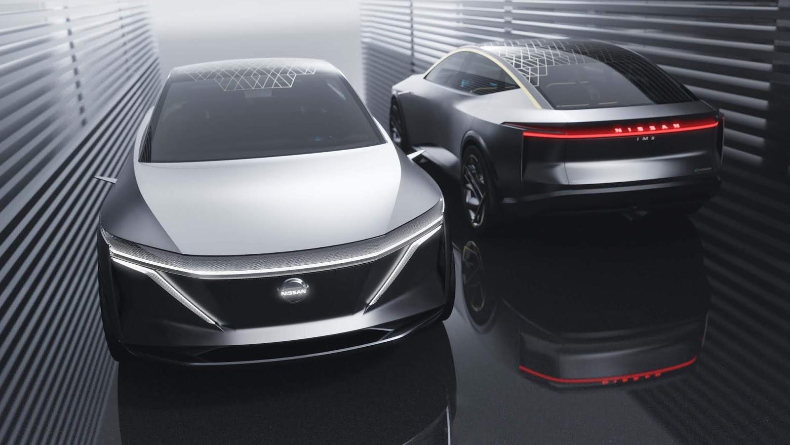 To πρωτότυπο σπορ σεντάν Nissan IMs στο Σαλόνι Αυτοκινήτου του Ντιτρόιτ