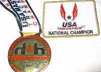 2012 National Champion USATF M50 Indoor 400m