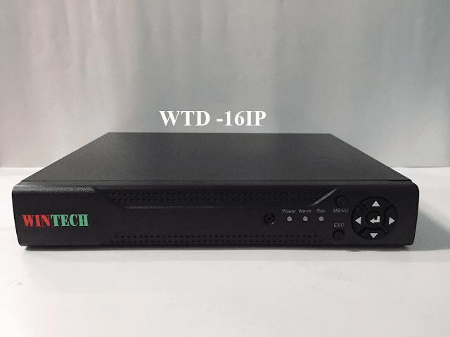 Đầu ghi hình camera 16 kênh IP WTD -16IP WinTech