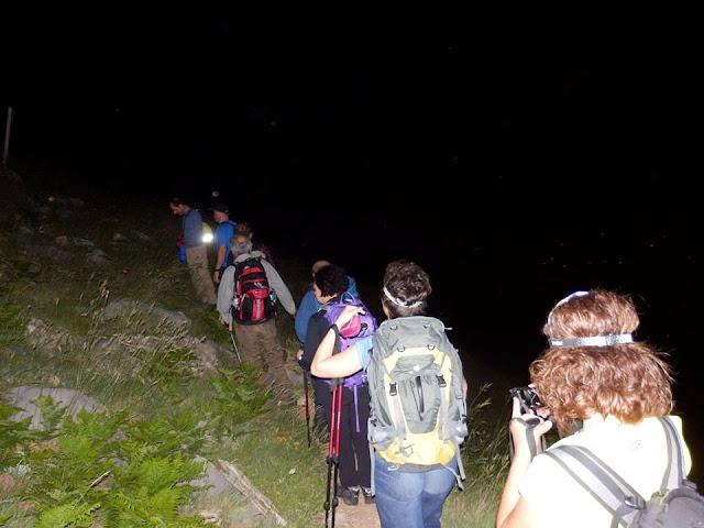 Νυχτερινή ανάβαση στο Αρτεμίσιο Όρος για να υποδεχθούν τους αθλητές του «Σπάρταθλον» 2018