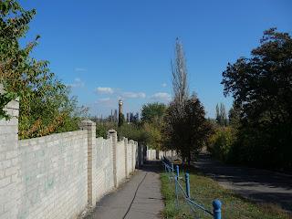 Новгородське. Спуск-підйом на Петровську гору