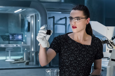 Lena Luthor Supergirl hot chick doing science