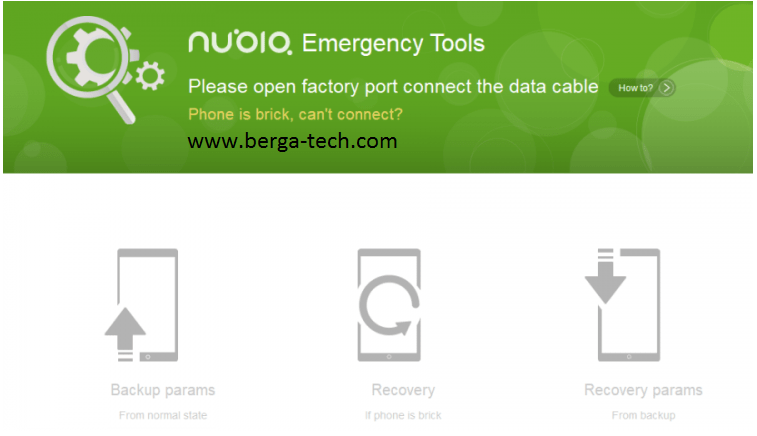 Download Nubia Emergency Tool - Unbrick, Update Nubian Devices
