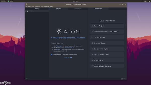 atom editor