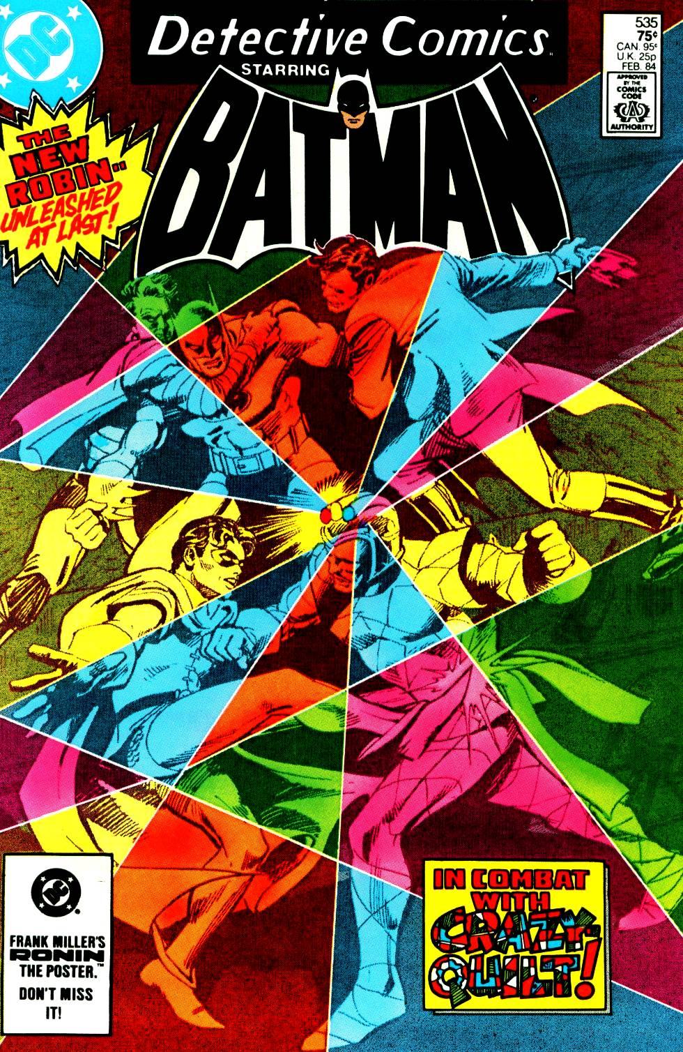 Detective Comics (1937) 535 Page 1