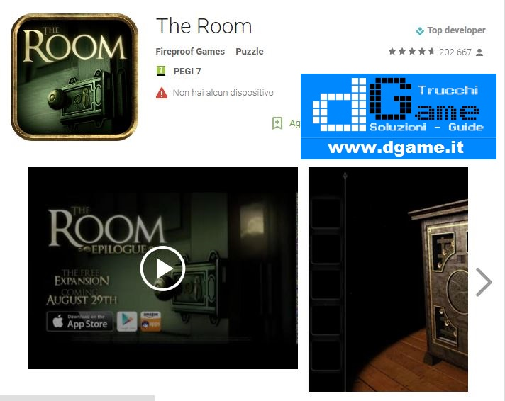 Soluzioni The Room di tutti i livelli | Walkthrough guide