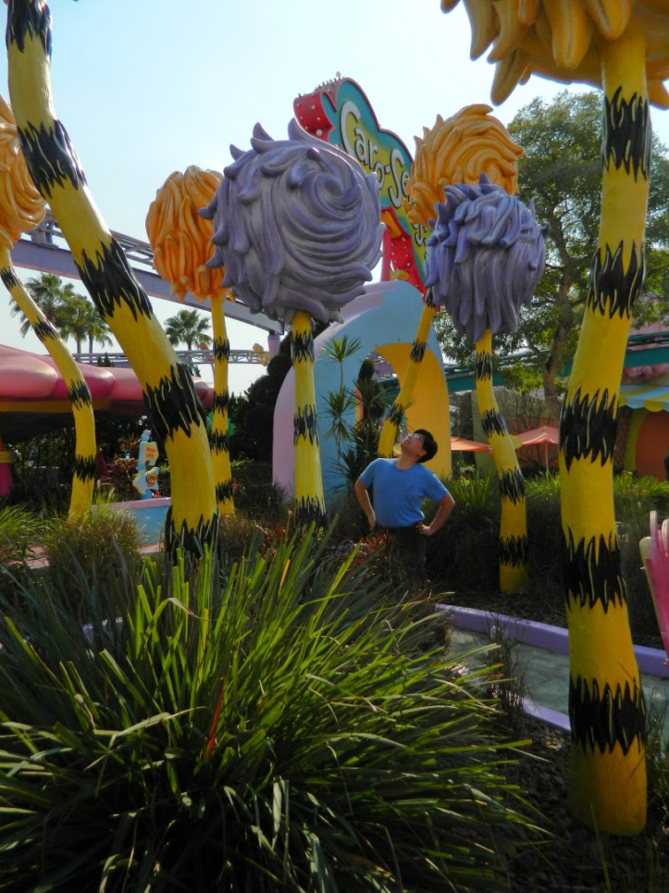 Truffula Trees Seuss Landing Universal Studios Orlando by garden muses-not another Toronto garden blog