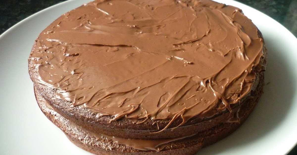 Chocolate Syrup Cake Without Eggs