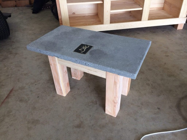 Concrete DIY Furniture Ideas.Concrete DIY Furniture Ideas