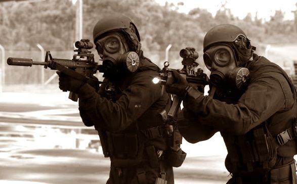 Gambar pasukan PPRC pemukul reaksi cepat dan pasukan elite pembebasan sandera TNI