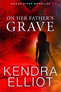 Bea's Book Nook, Review, On Her Father's Grave, Kendra Elliot