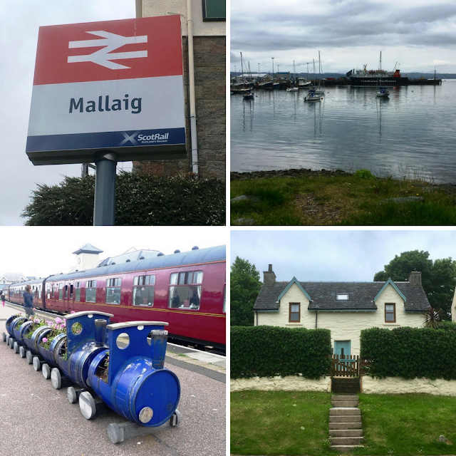 A Harry Potter Road Trip through Fort Willam and Glenfinnan to Mallaig.