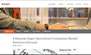 HubSpot Marketing Blog is where marketers go to grow