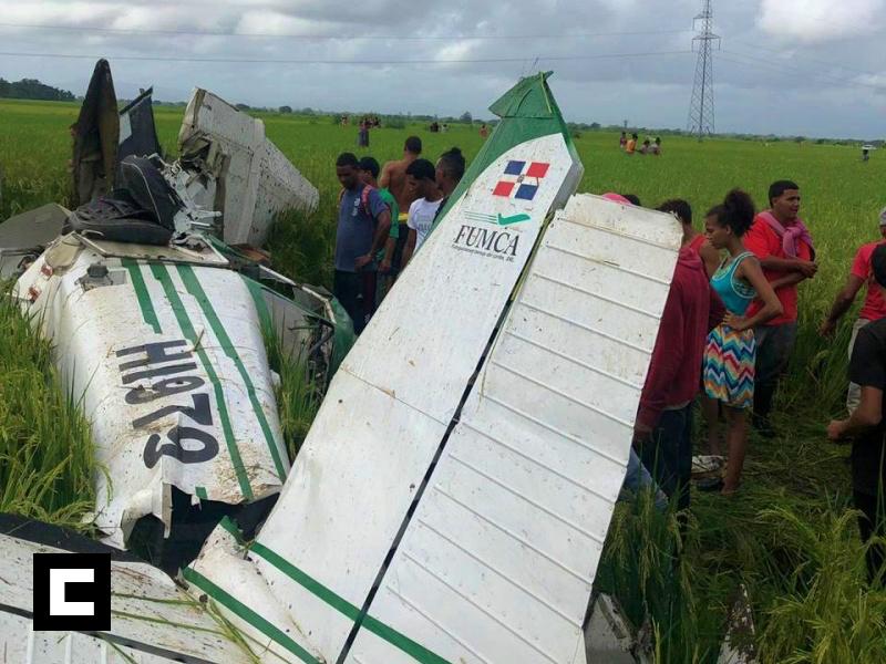 Muere piloto al estrellarse en avioneta fumigadora en SFM